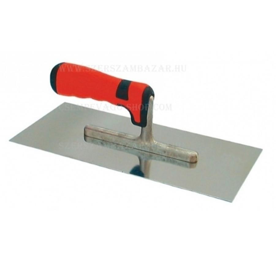Sima glettvas gumirozott soft nyél 280×130 mm (b3213280)