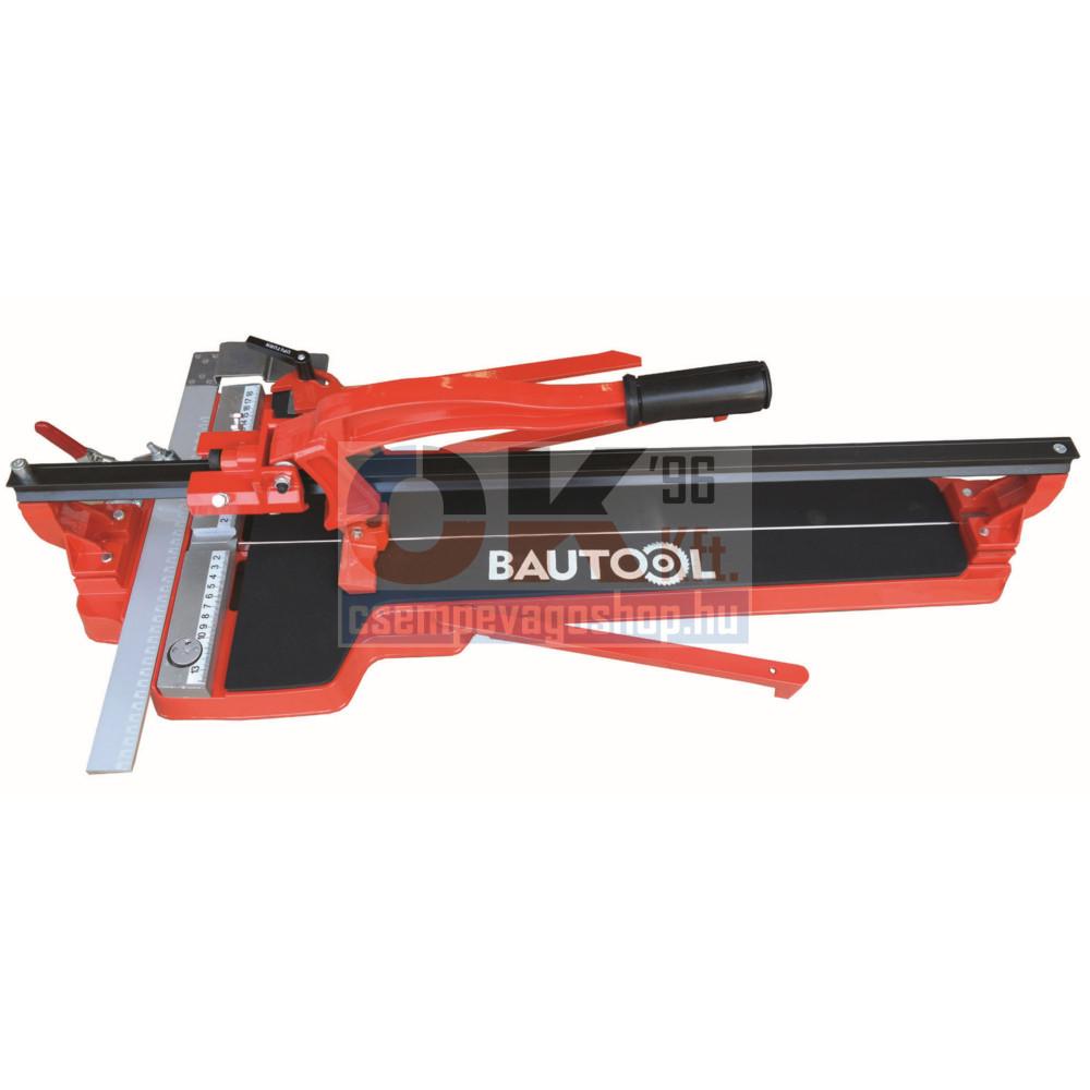 Bautool csempevágó 80cm nagy derékszög fix vonalzó tolós kar (bnl155800)
