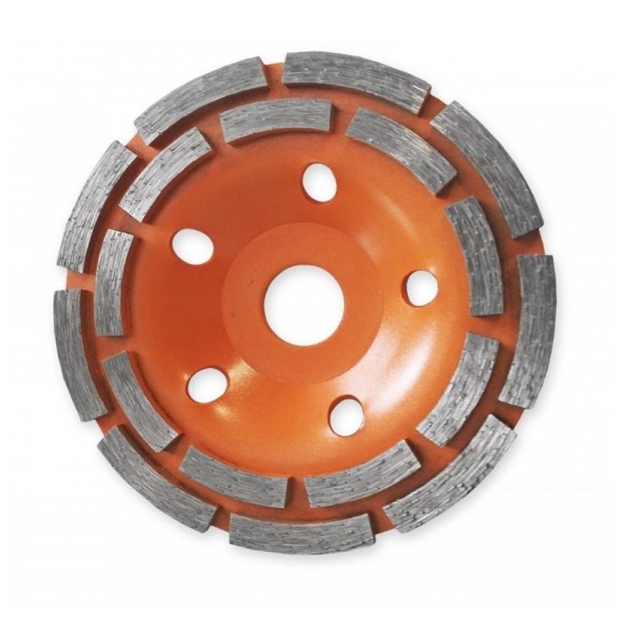 Dedra gyémánt csiszolótárcsa dupla szegmens 125mm (hp041)