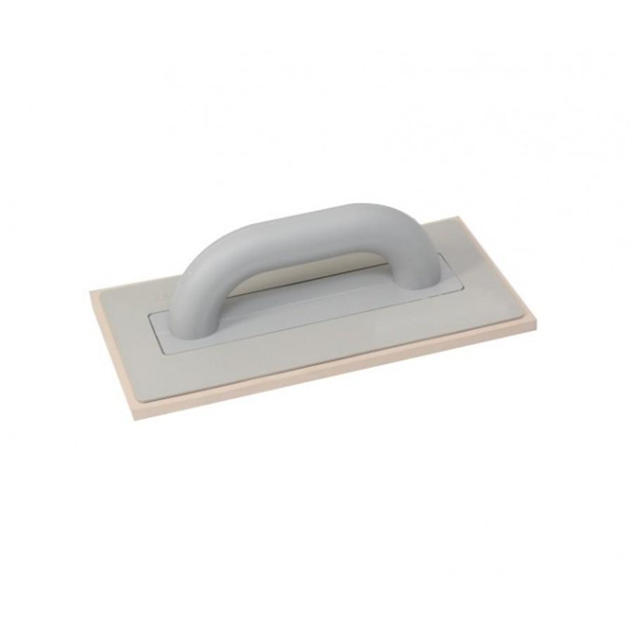 Kubala burkolószerszám, fugaanyag behúzó gumi 130 x 270 mm fehér gumi (mak0310)