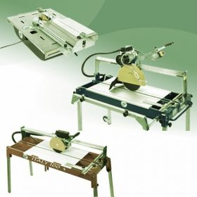 SIRI vizesvágó, vizes csempevágó gépek