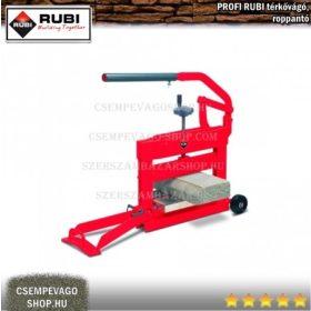 RUBI roppantó és térkővágó