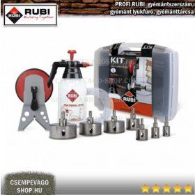 RUBI gyémánt lyukfúrók fúrógéphez