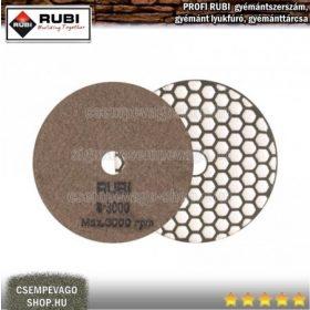RUBI gyémánt csiszoló és polírozó tárcsa