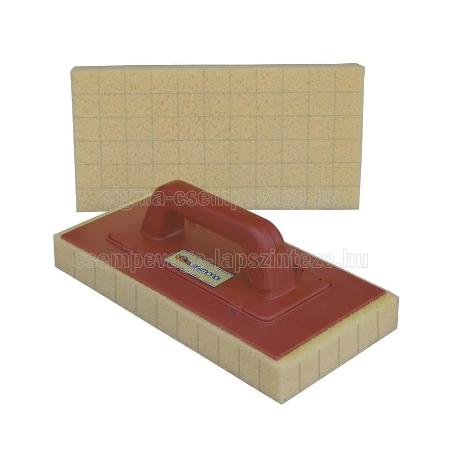 Raimondi fugamosó szivacs 17×34×4cm szuper nedvszívó nyéllel HYDRO szivacs vágott (r336swet)