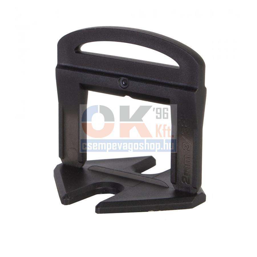 Rubi ÉKES burkolat és lapszintező, TALP elem 200 db, 2mm fuga, 3-12 mm laphoz (ru2853)