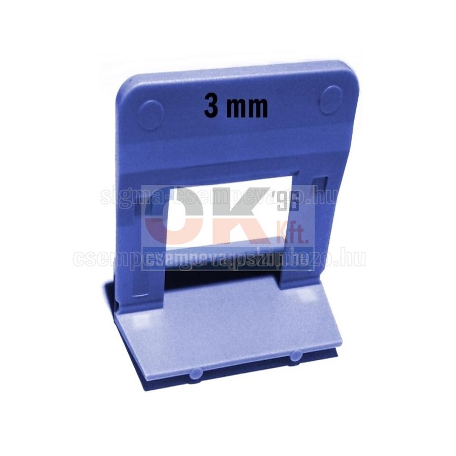 SKT2015 ÉKES lapszintező, TALP elem 1500 db, 3mm fuga, 12-22mm laphoz (skt201513cs5)