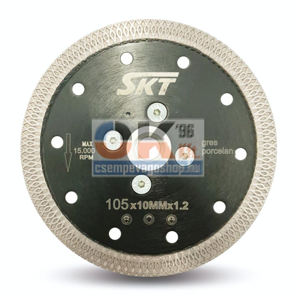 SKT PROFI vékony gyémánttárcsa száraz vágáshoz M14 230×10mm (skt521230)